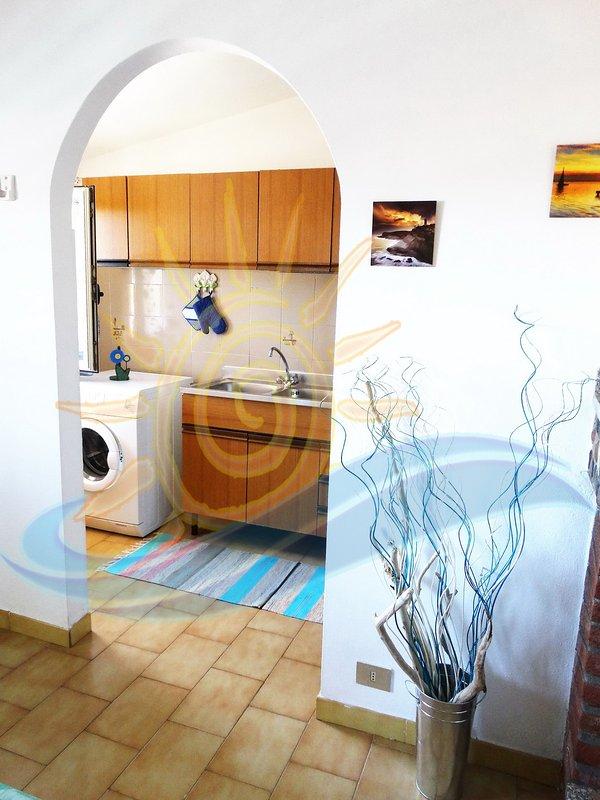 kitchenette entrance