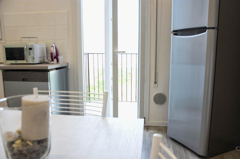 frigorífico e terraço