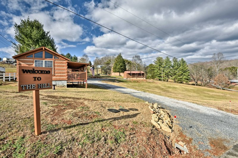 Perched on a hill overlooking Cherokee Lake, this property affords you plenty of peace and quiet.