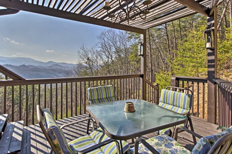 Sip a refreshing beverage on the deck as you soak in the beauty of your surroundings.