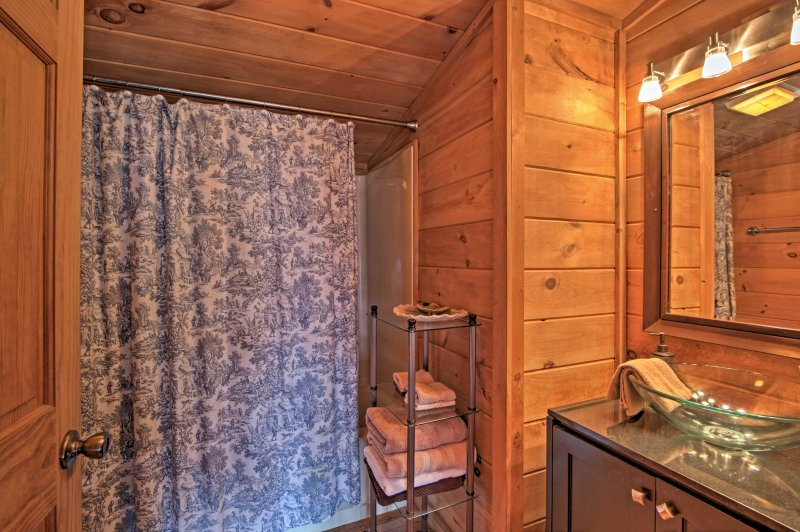 Freshen up in one of 2 bathrooms in the home!
