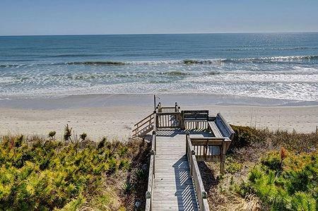 Privat tillgång till stranden