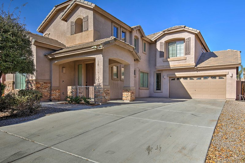 This home is just 1 mile from the stadium and downtown Surprise!