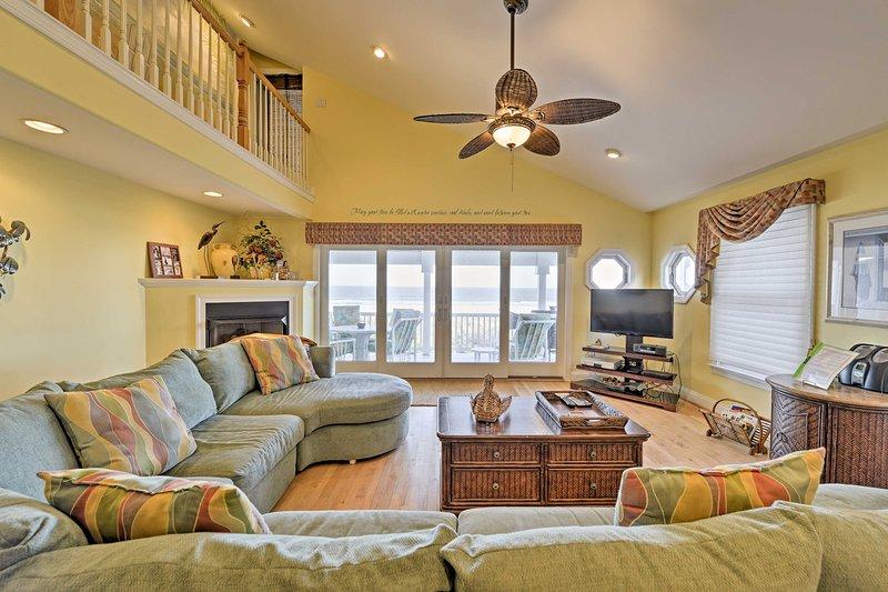 Profitez d'une belle escapade à la mer dans cet hôtel 5 chambre Sea Isle City Location de vacances townhome.