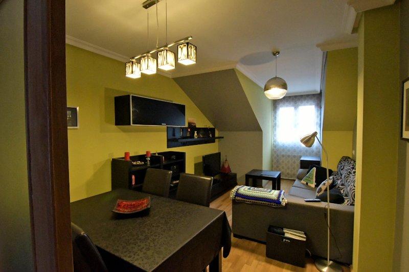 Apartamento comodo y luminoso en el centro de Cangas de Onís, holiday rental in Tornin
