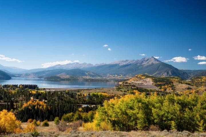 Beautiful Lake Dillon And The Gore Range