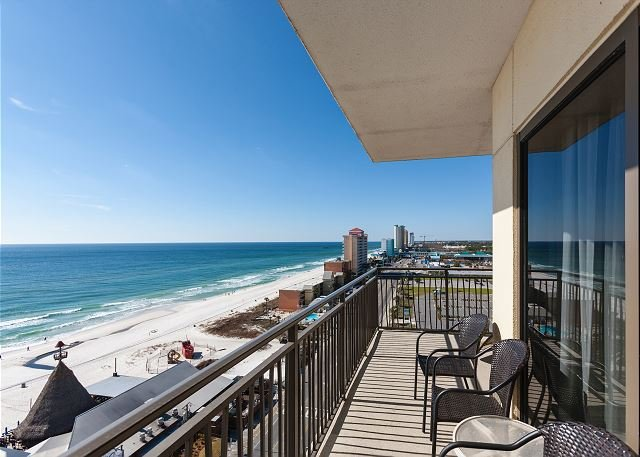 2 Gulf-Front Units: Private Balcony, Rooftop Heated Pool & Spa, alquiler de vacaciones en Panama City Beach