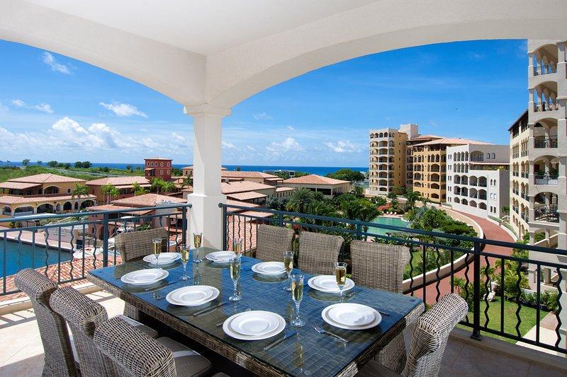 Aqua-Ansicht, Porto Cupecoy, St. Maarten