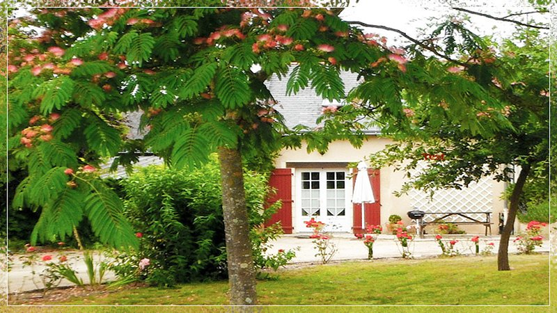 La forge - les volets rouges sleeps 4 with large heated pool