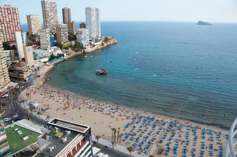 Primera línea playa levante Rincón de Loix.