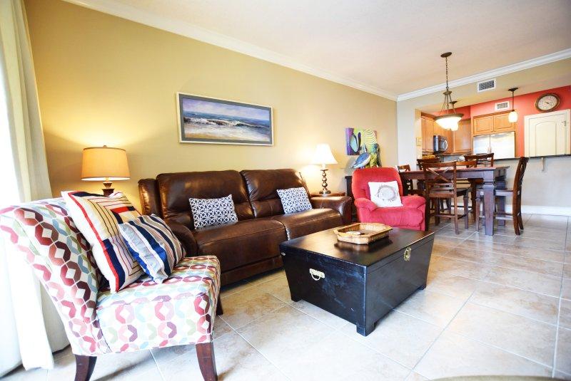 Living Area - Azure Resort, Isola di Okaloosa Fort Walton Beach Case per le vacanze