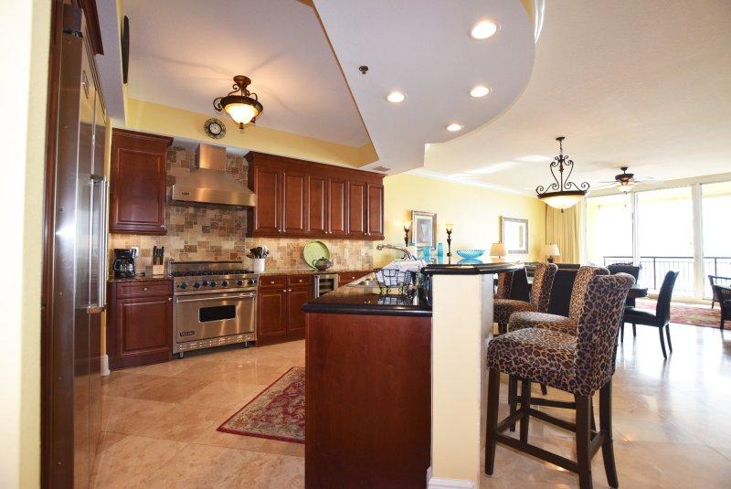 Cuisine - Bella Riva Resort, Île d'Okaloosa Fort Walton Beach Floride Locations de Vacances