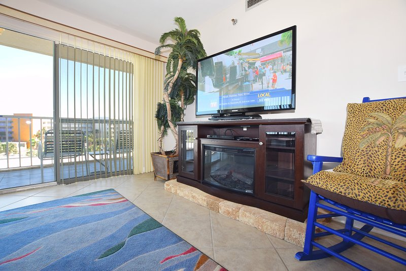 Living Room, Sea Oats Resort Okaloosa Island Fort Walton Beach Destin Vacation Rentals
