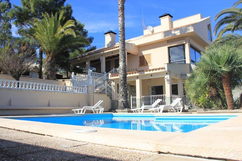 Teresita High Views with private pool, holiday rental in Santa Brigida