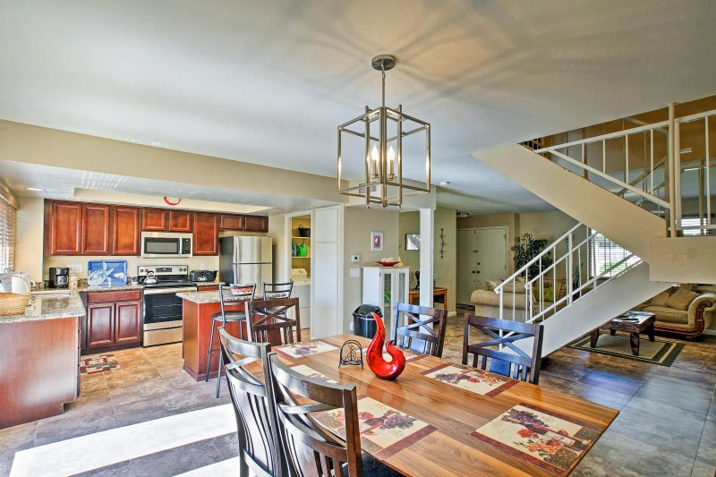 Book your Arizona trip at this vacation rental house in the heart of Scottsdale!