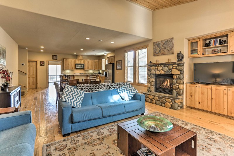 Adventure awaits you at this immaculate 4-bedroom, 3-bath vacation rental house in Truckee.