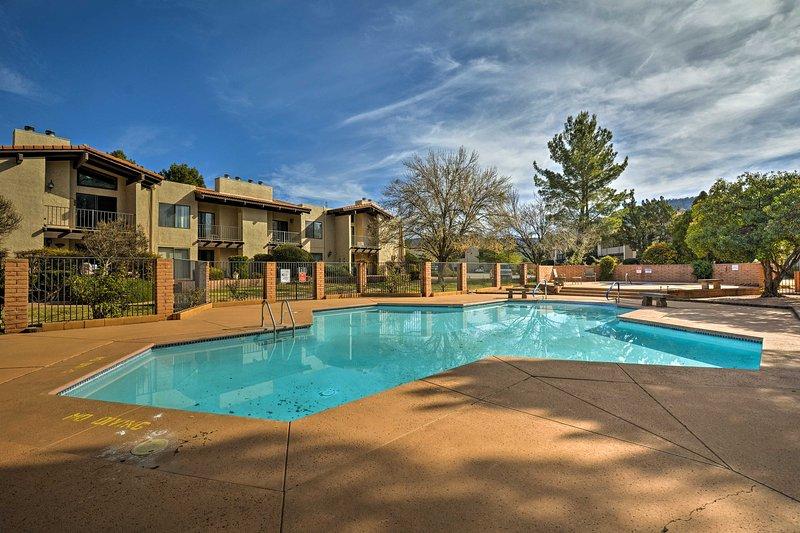 Plan your next Sedona retreat to this charming 3-bedroom, 2-bathroom vacation rental condo.
