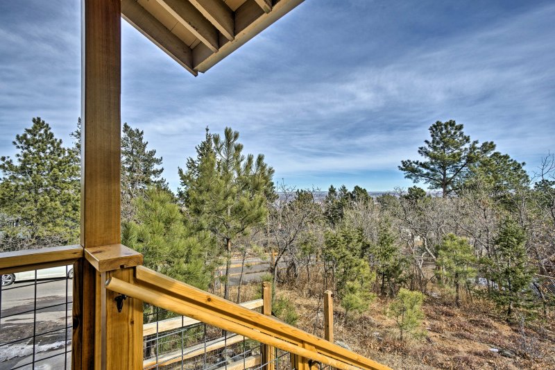 Greet the day on the porch as you take in the awe-inspiring views that surround the property.