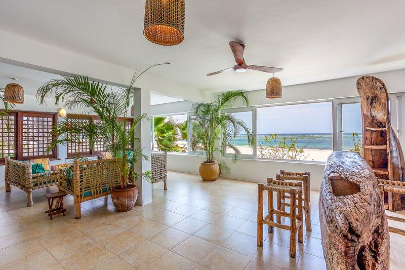 Tequila Sunrise Beach Cabana - Diani Beach - Kenya, vacation rental in Galu Beach