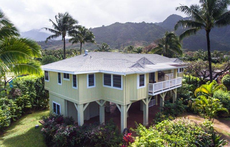 Photo aérienne de la maison principale