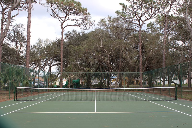 Quadra de tênis da Comunidade