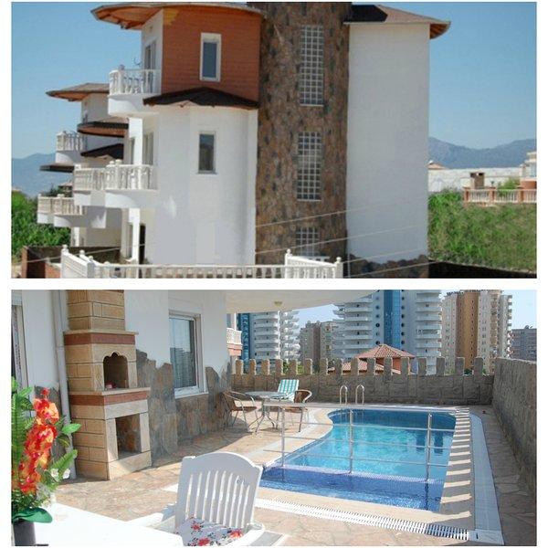 Mahmutlar Alanya  with pool, holiday rental in Mahmutlar