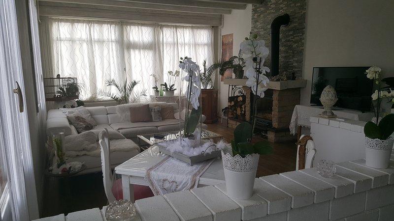 au café de la gare ,SPA, Burgundy Spacious charming house near Dijon Dole Gray, holiday rental in Dole