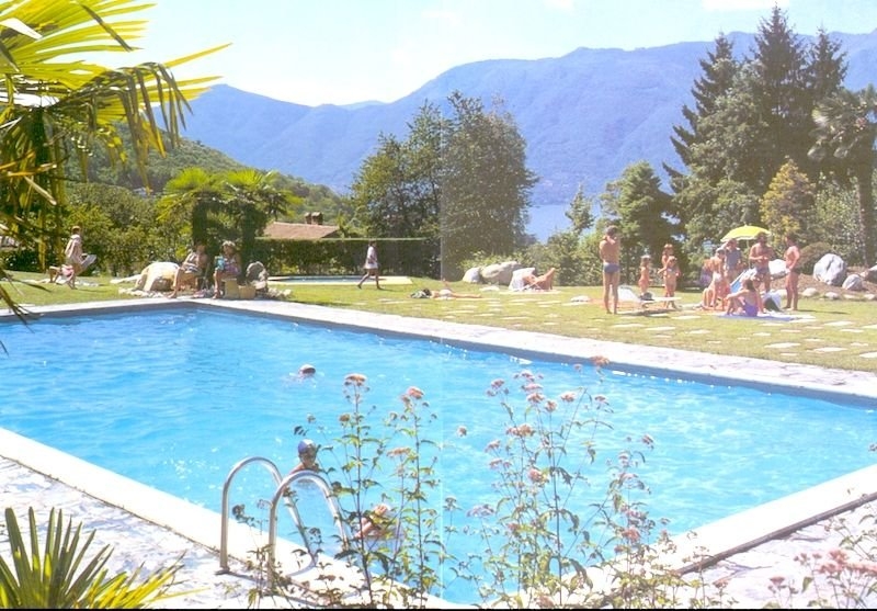 Eucalipto 1 with lake view in Germignaga and pool in residence, holiday rental in Germignaga