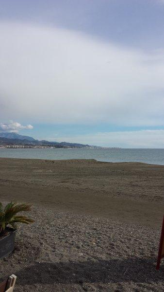 Local beach of Torre del Mar..