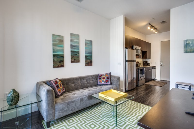 furnished contemporary short term apartment in the heart of downtown