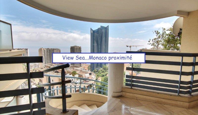 Sea view Monaco,Swimming Pool, Fitness..Parking...Wifi ..All inclusive