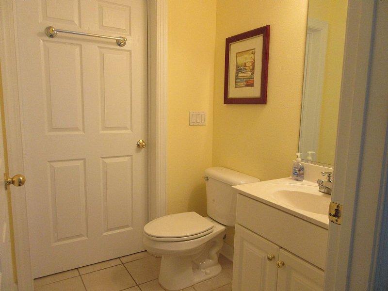 bathroom 3 open to hallway and bedroom 3