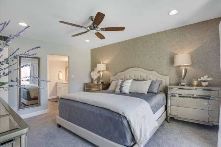 Why wake up early when you can sleep in. Beautiful spacious Master bedroom with private bathroom