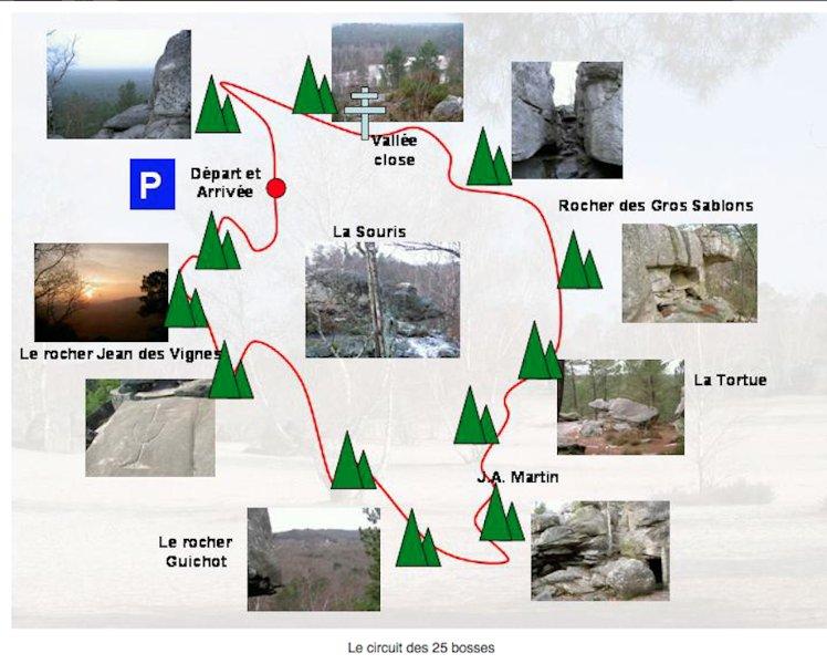 Escalade, 3 Pignons, Milly la Forêt Bouldering Location de maison région Fontainebleau