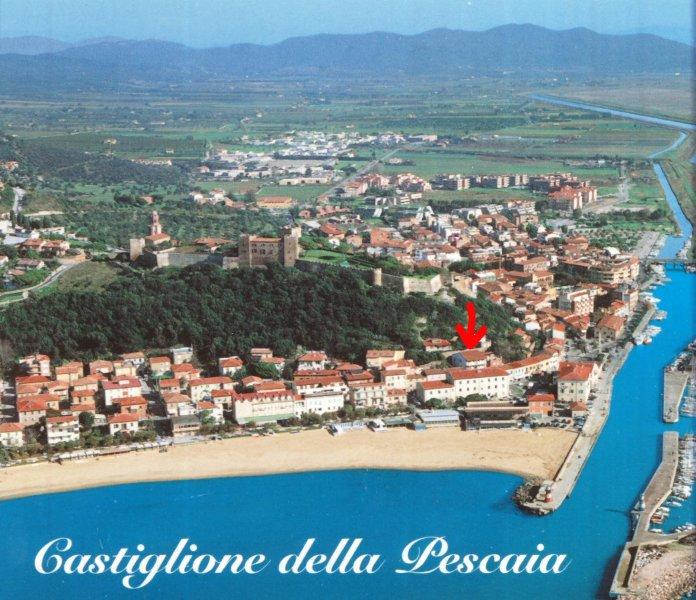 Appartamento Elena:2 passi dal mare,in centro,terrazza vista mare, wifi, garage!, location de vacances à Castiglione Della Pescaia