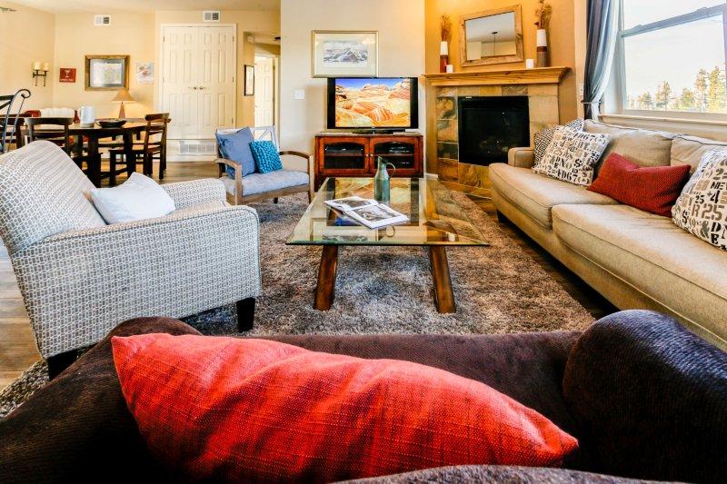 Cozy furnishings