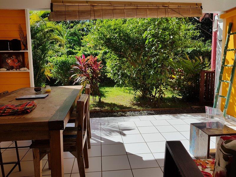 Habitation CALISSA votre gîte ZABRICOT, location de vacances à Bouillante