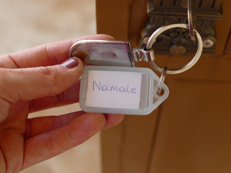 a room key