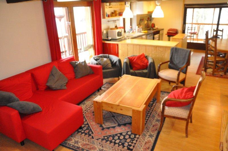 soggiorno: soggiorno cucina veranda