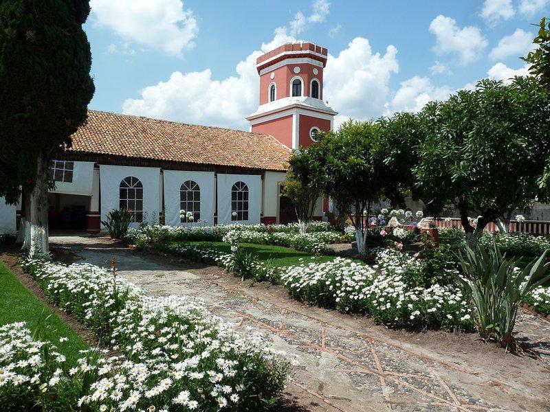 Hacienda El Salto, Mexican Hacienda, history, tradition and ecoturism, holiday rental in Senguio