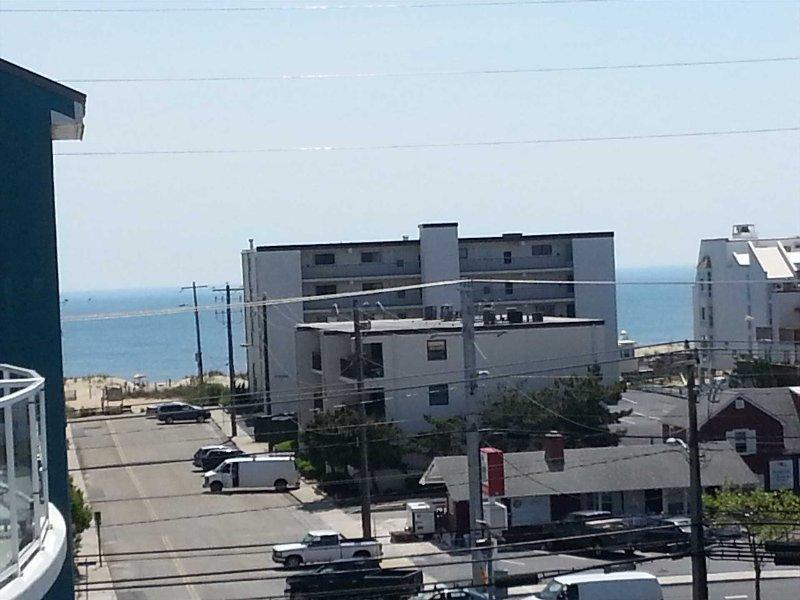 Vue du balcon vers l'océan
