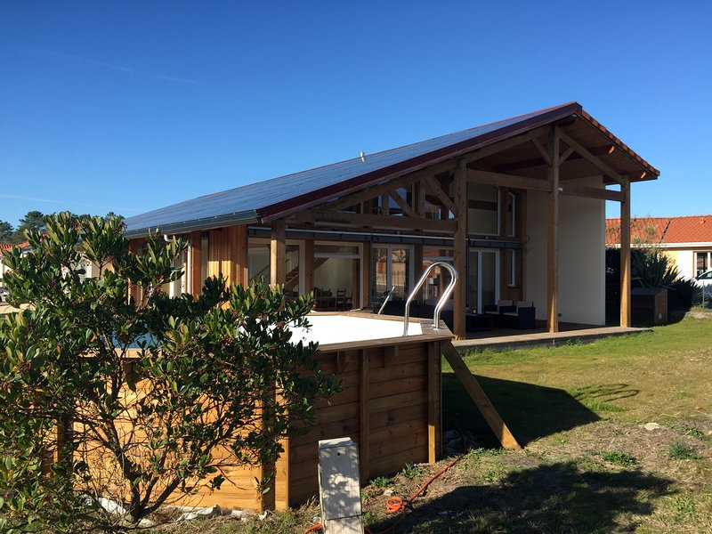 Positive Architect house 5 minutes from the beach by car