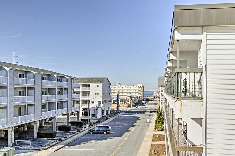 Il condominio è vicino a tutto ciò che si può desiderare di fare a Ocean City.