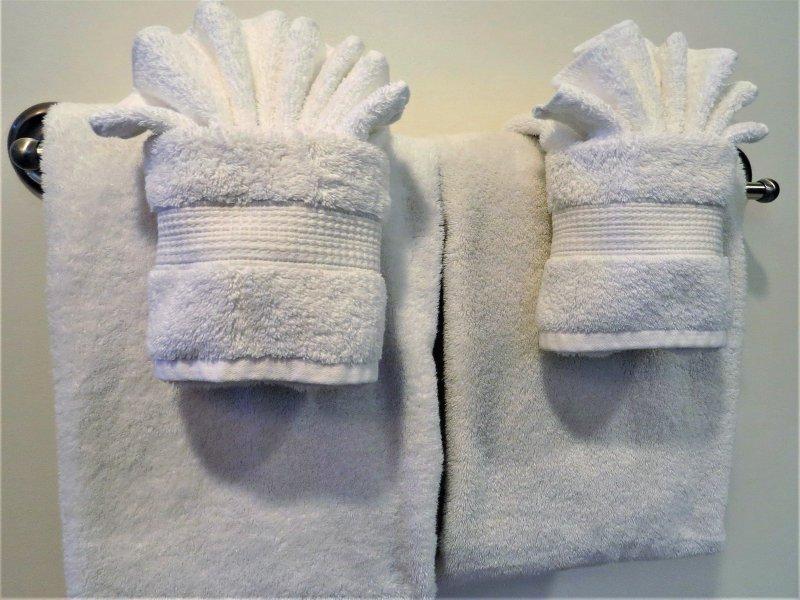 Lujosas toallas suaves!