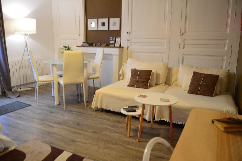 So Cute Appartement - Jardin, WIFI TOURS Centre, location de vacances à Joué lès Tours