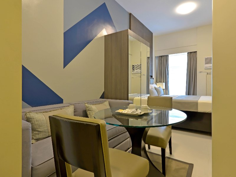 Fully Furnished Studio Unit 7 at Currency Ortigas, alquiler vacacional en Pasig