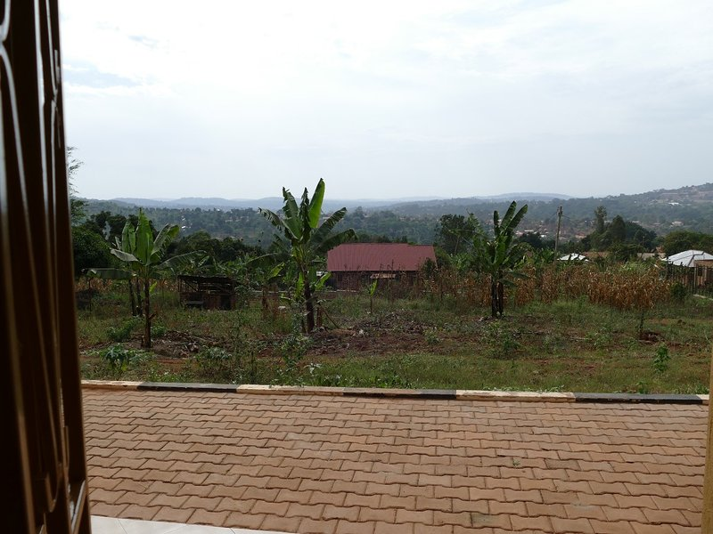 Overlooking the green valley