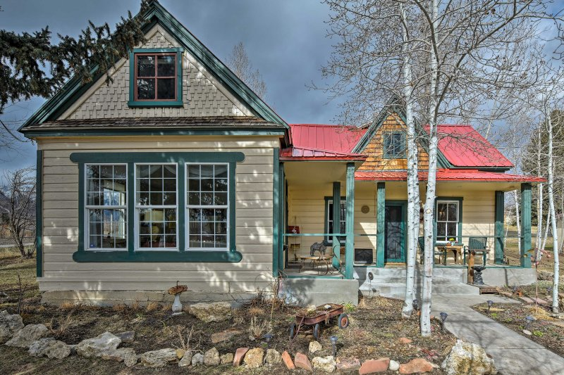 Fall in love with this historic home on your next Utah vacation!