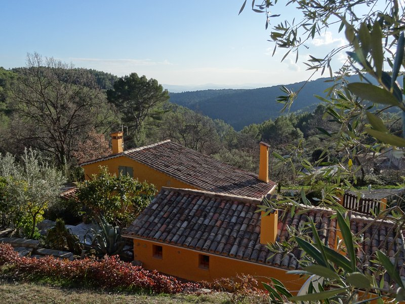 Villa Nyasa - Provençal House with amazing views, holiday rental in Var