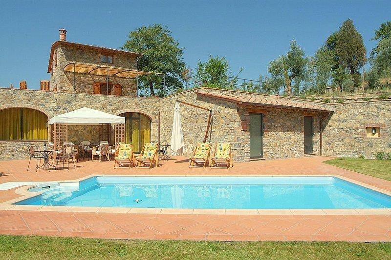 Villa Eracle, holiday rental in Gaiole in Chianti
